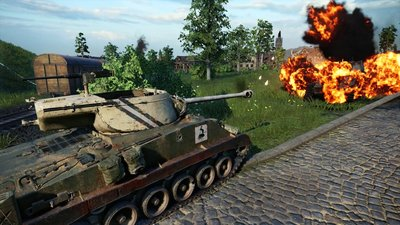 Состоялся релиз дополнения «Наемники» для World of Tanks Console