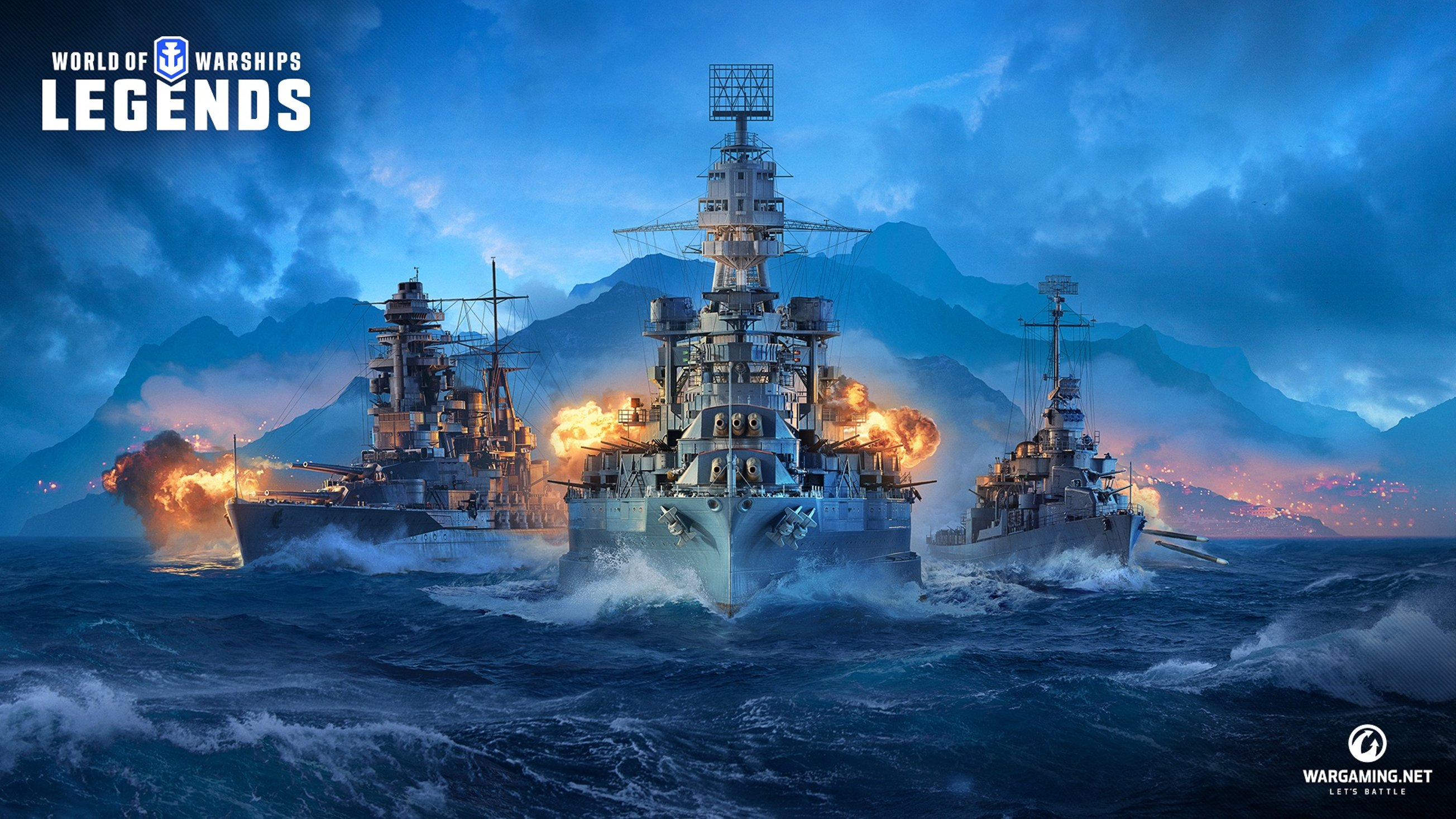 Wargaming анонсировала World of Warships: Legends