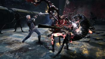 Devil May Cry 5 готова на 75%