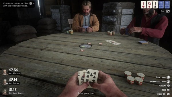 Red Dead Gambling